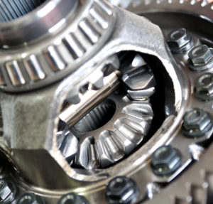 close up photo of Differential vehicle part Wizard Transmission Denver